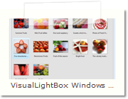 Javascript Photo Gallery Windows version - Main Window