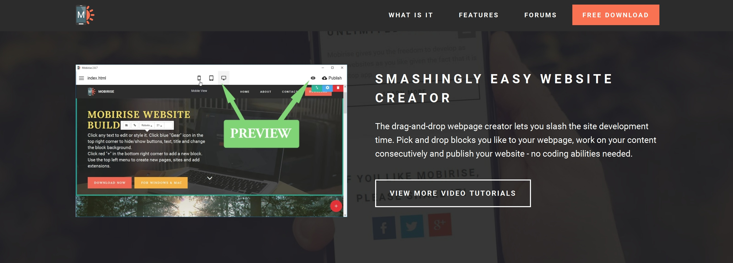Free Responsive Web Page  Creator Software