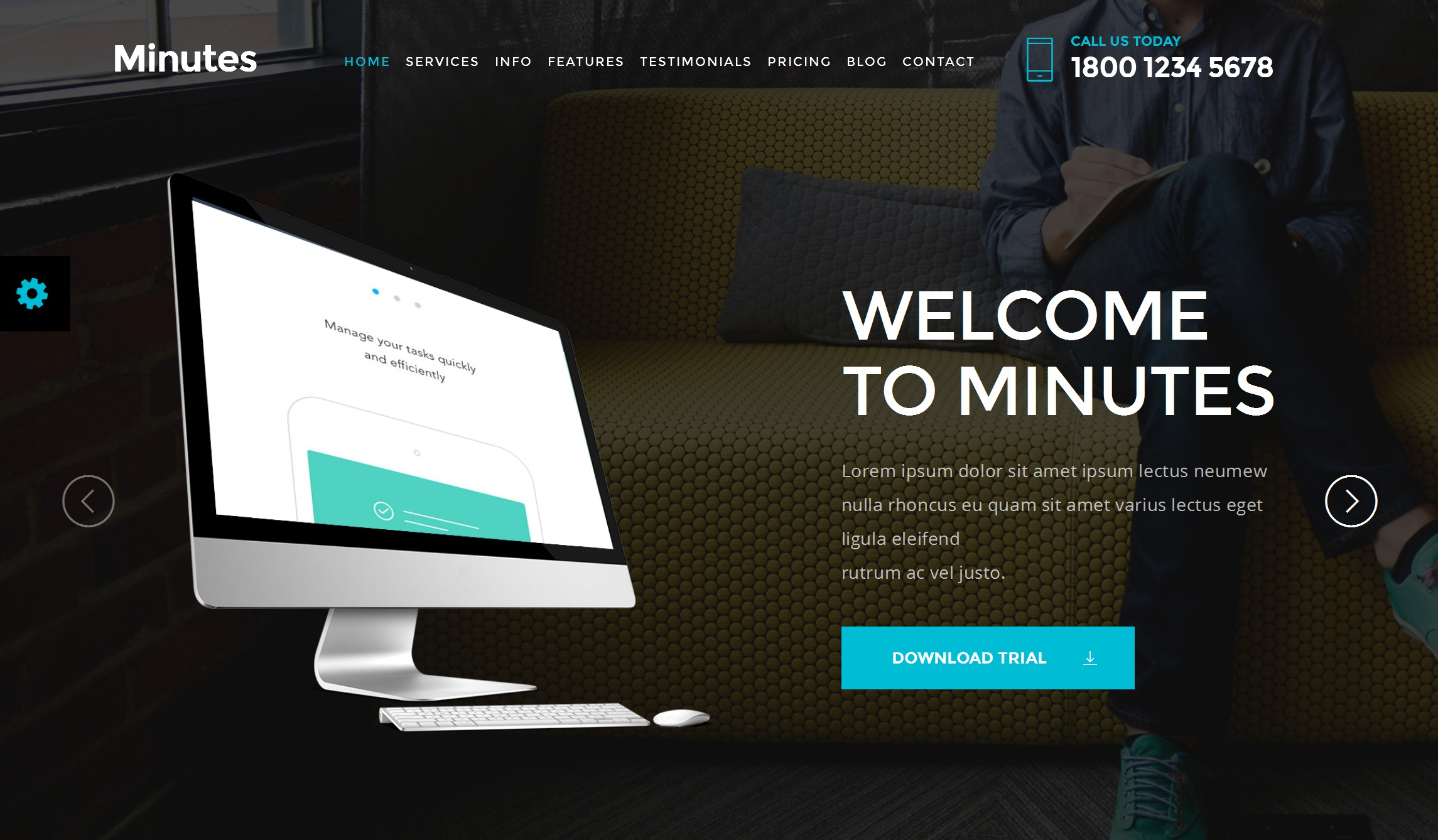 Free Download Bootstrap Business Theme