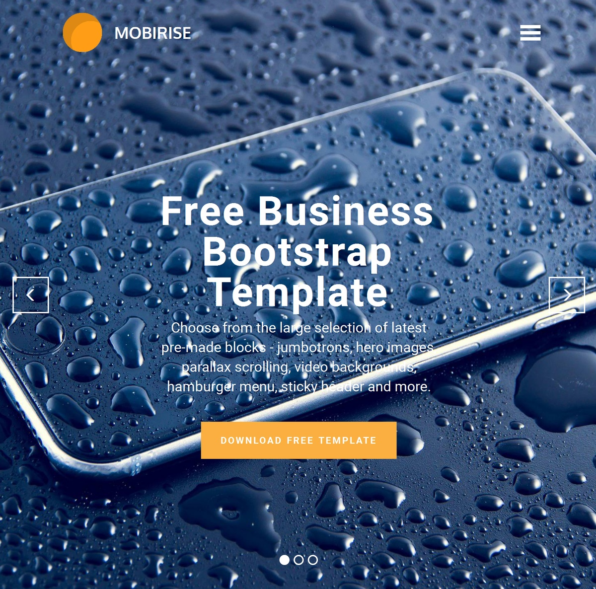 Responsive Site Templates Themes Extensions