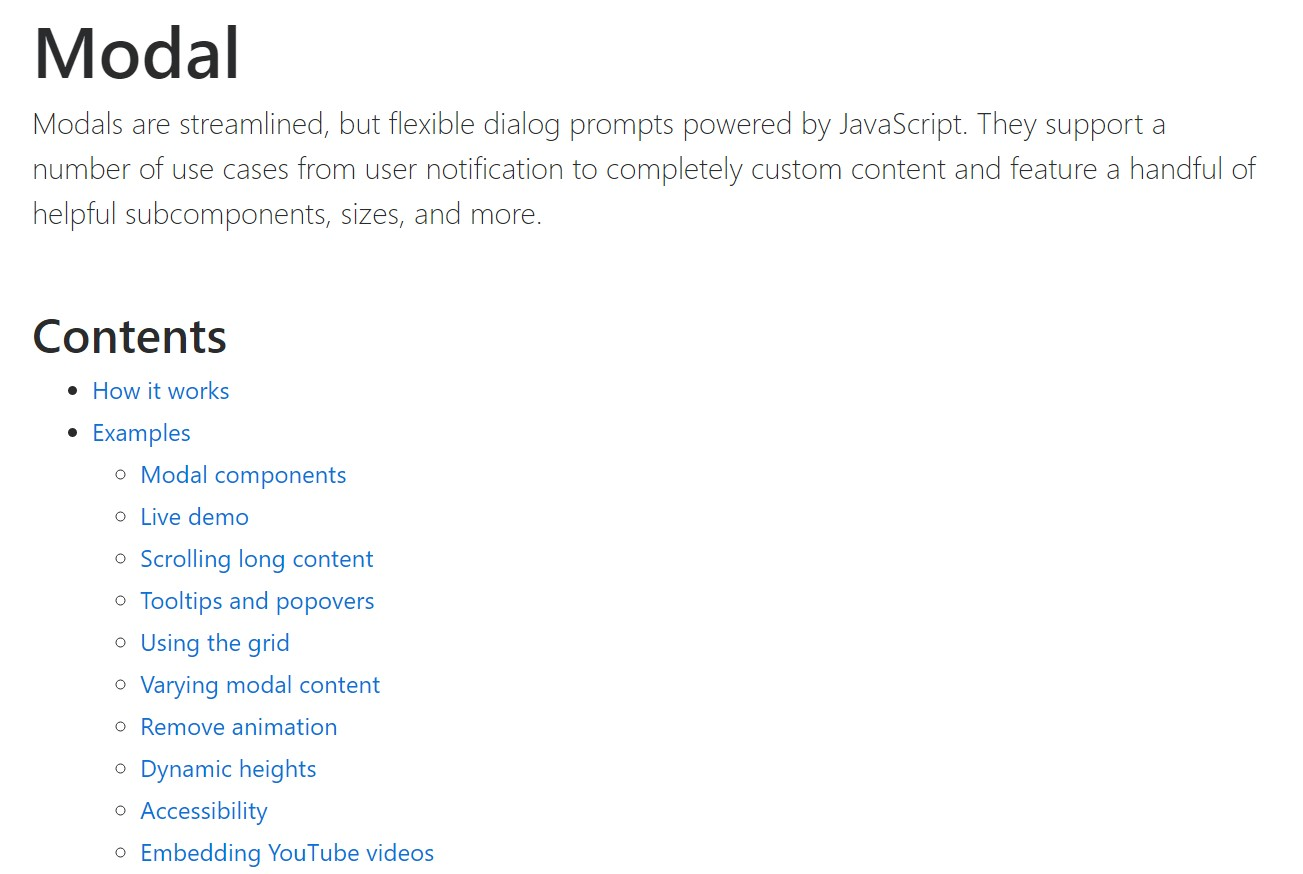 Bootstrap Modal Popup:  formal  records