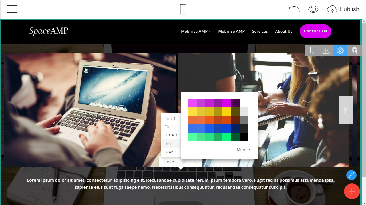 website designer software