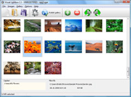 web poup menu mouse over Dynamic Photo Gallery As
