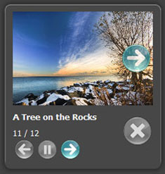 example for html modal popup Webalbum Flickr Support