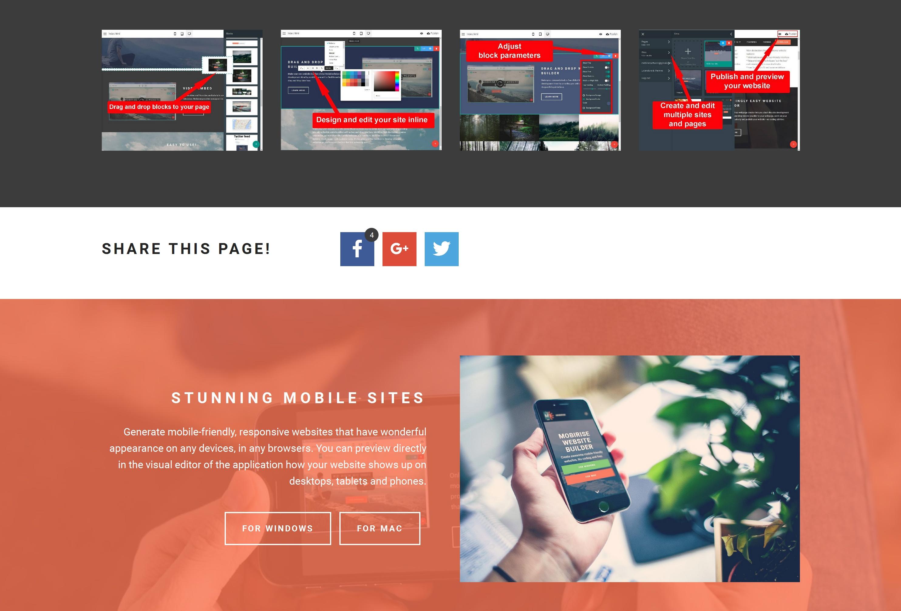 Free Drag and Drop Web Page  Creator