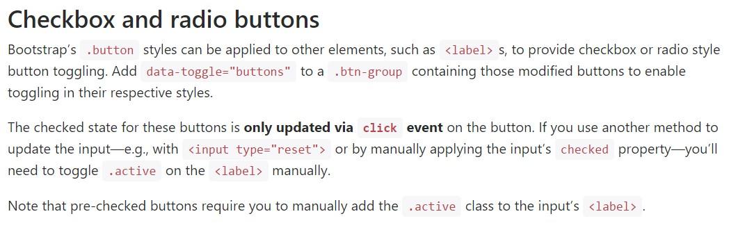 Bootstrap buttons  authoritative  documents