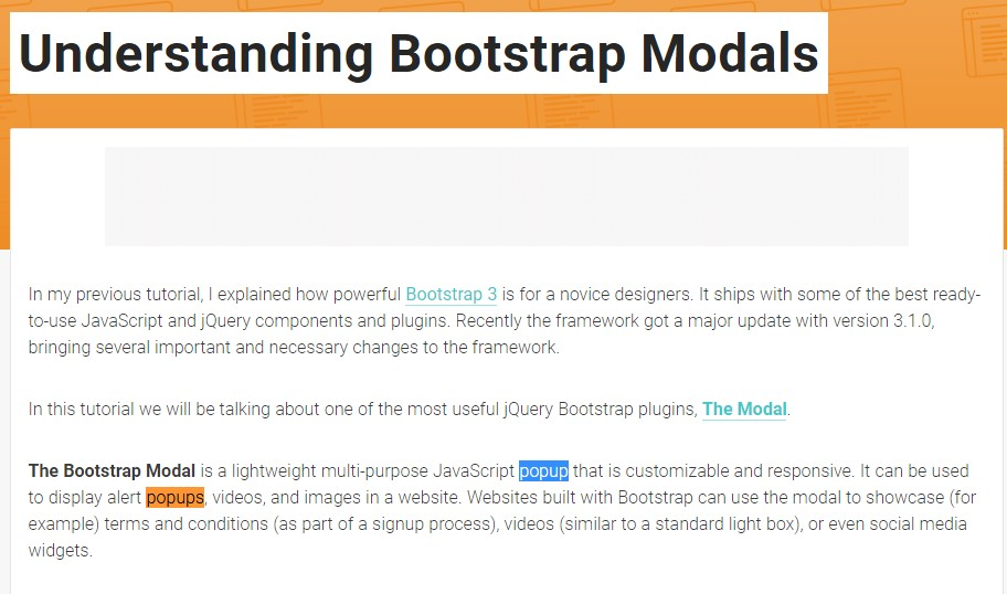 Yet another  beneficial  post  relating to Bootstrap Modal Popup