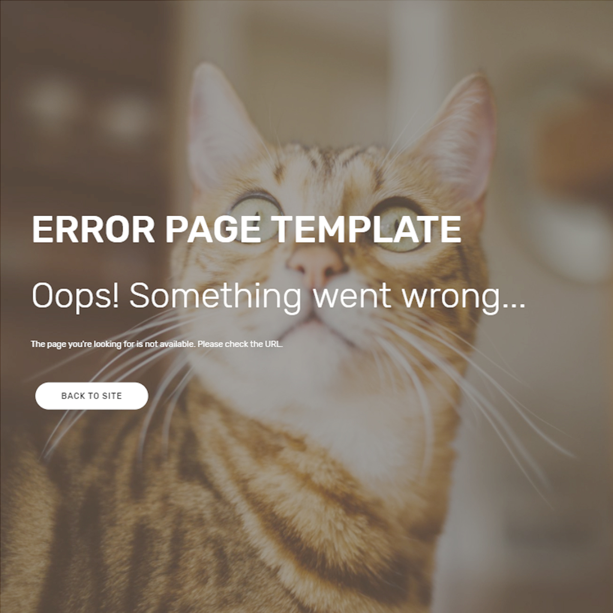 Free Download Bootstrap Error Templates